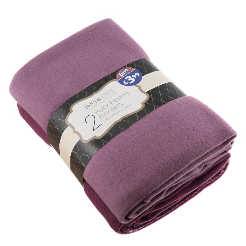 266816 2 Polar Fleece Blankets 120x150cm 31 Jpg