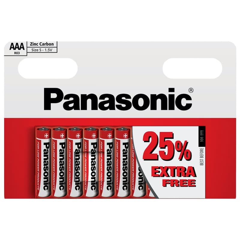 Panasonic AAA Batteries 10pk