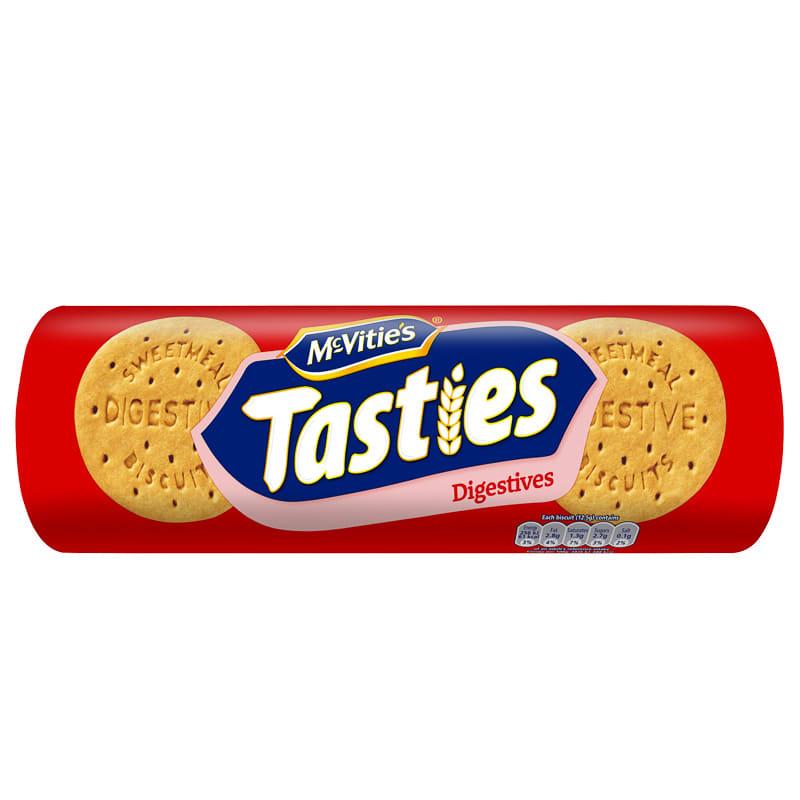 Mcvitie S Tasties Digestives 300g Groceries Biscuits
