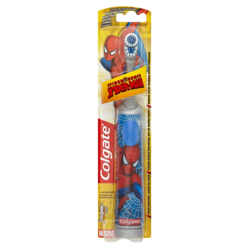 Colgate Battery Toothbrush - Spider-Man