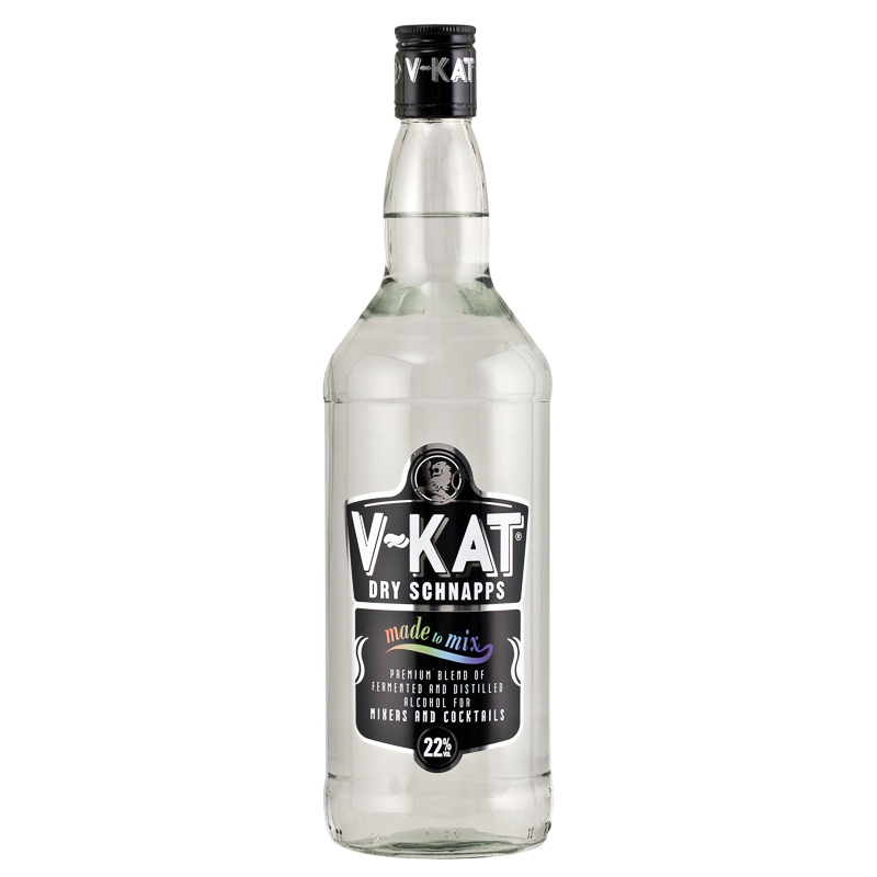 V Kat Dry Schnapps 1l Alcohol Mixers Cocktails