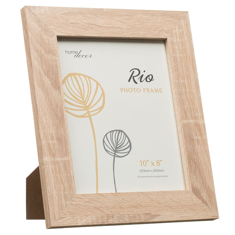B&M Rio Wood Photo Frame 8\