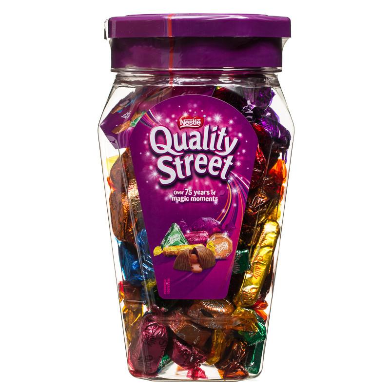 B Amp M Nestle Quality Street 600g 268790