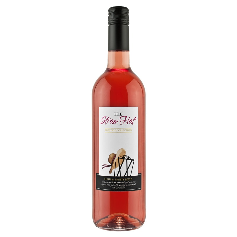 2a36aeaa061 The Straw Hat Rose Wine 75cl