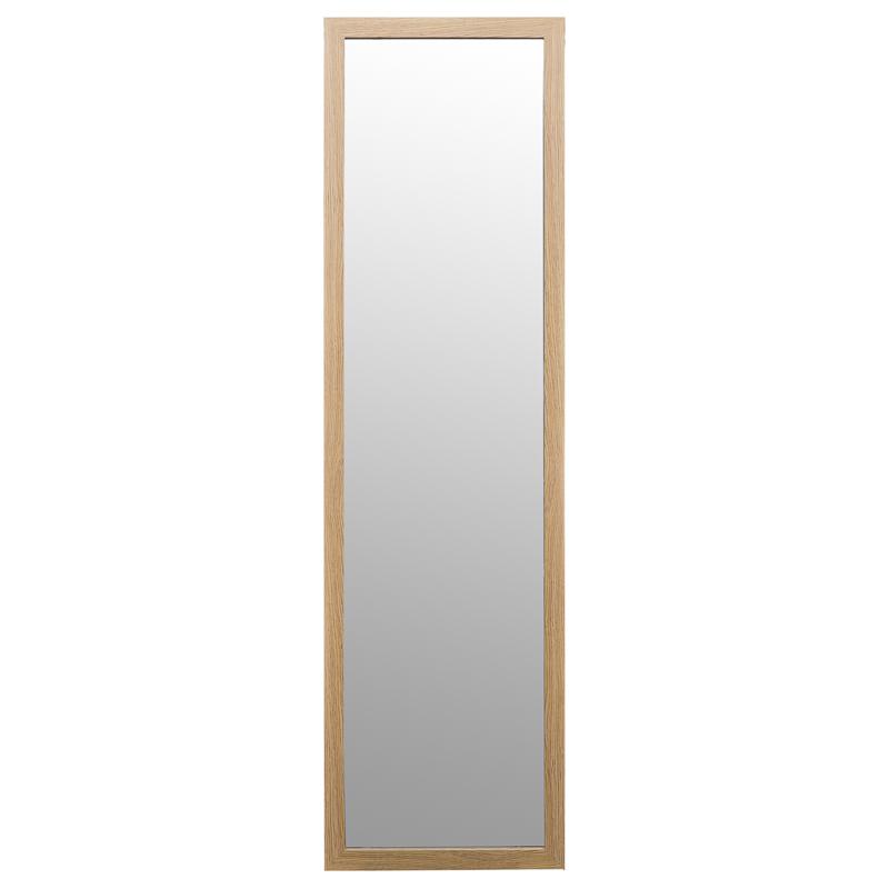 B M Over Door Mirror 120 X 30cm 270480 B M