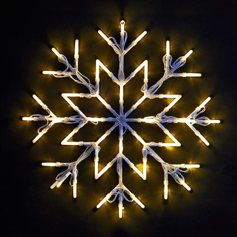 B m snowflake christmas light cm
