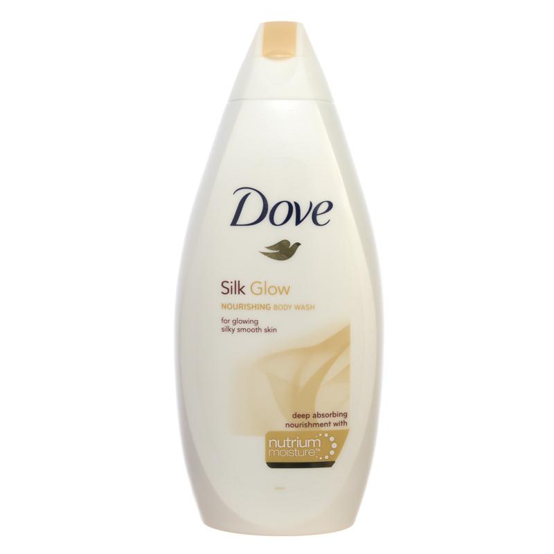270877 Dove Silk Glow Deep Absorbing Body Wash 500ml Jpg