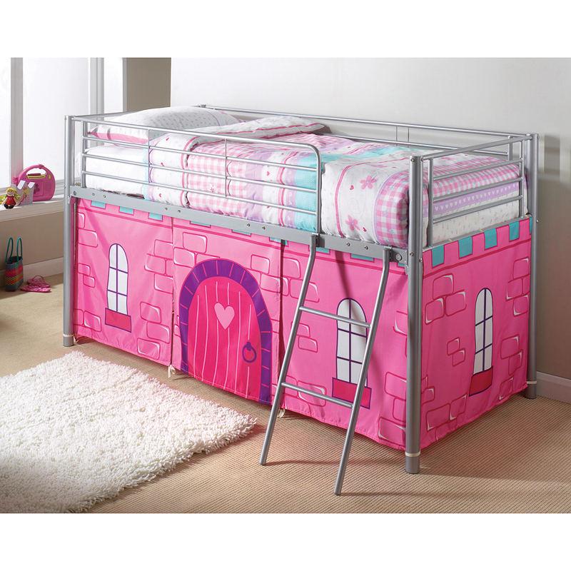B Amp M Princess Castle Midsleeper Bed Children S Bedroom