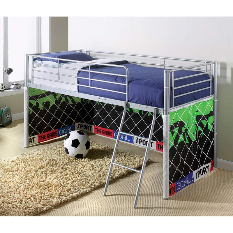 B m kids midsleeper bed football children 39 s bedroom for B m bedroom furniture