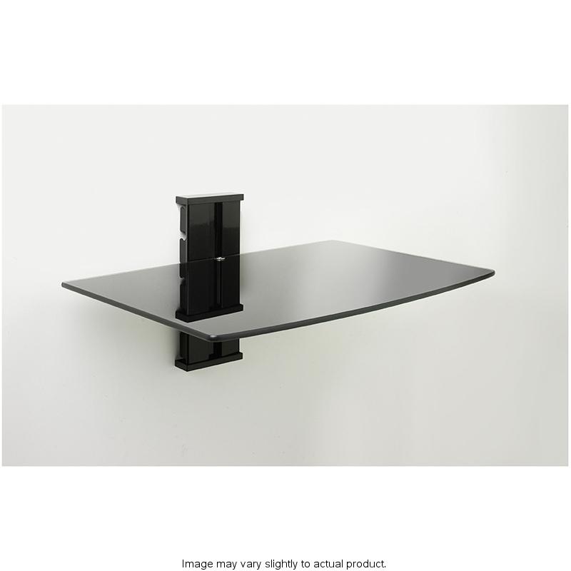 b m dvd wall shelf 271403. Black Bedroom Furniture Sets. Home Design Ideas