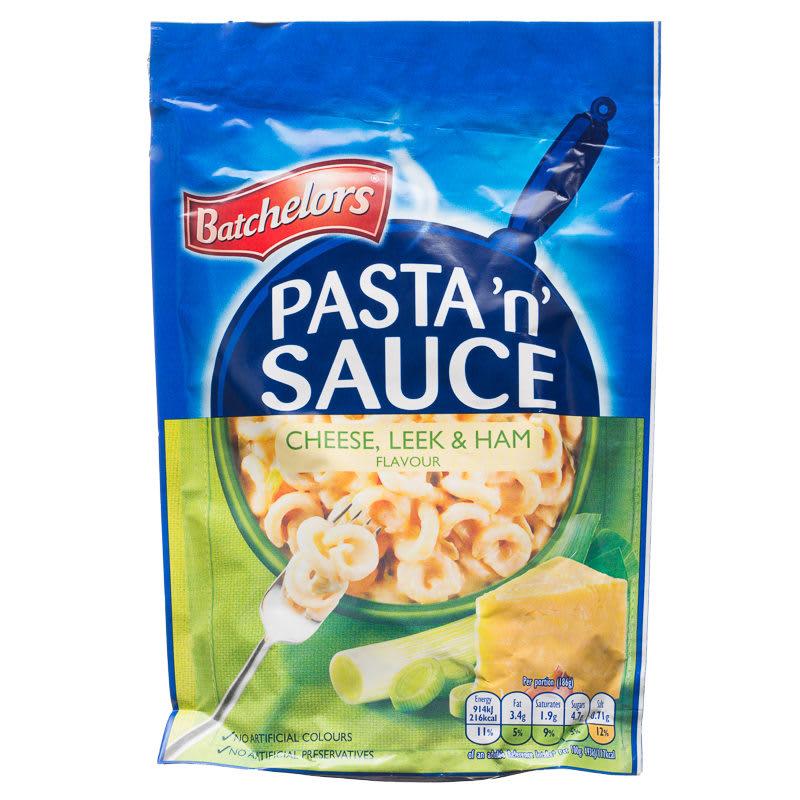B Amp M Batchelors Pasta N Sauce Cheese Leek Amp Ham 99g