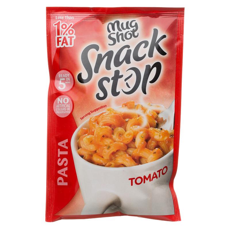 Mug Shot Snack Pot Tomato Pasta 57g Instant Meals