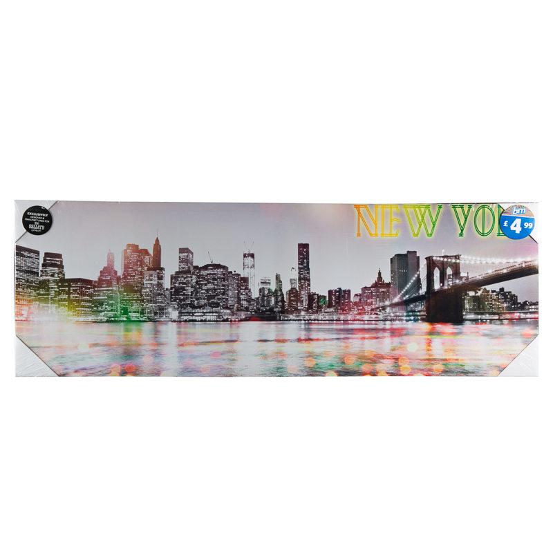 B&M: > New York Canvas