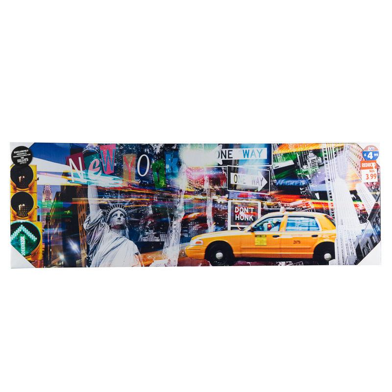 B&M: > New York Canvas - 2737491
