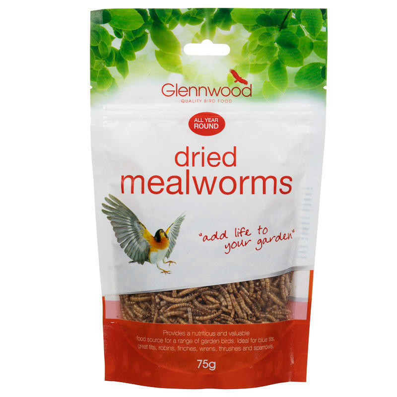 Glennwood Dried Mealworms 75g