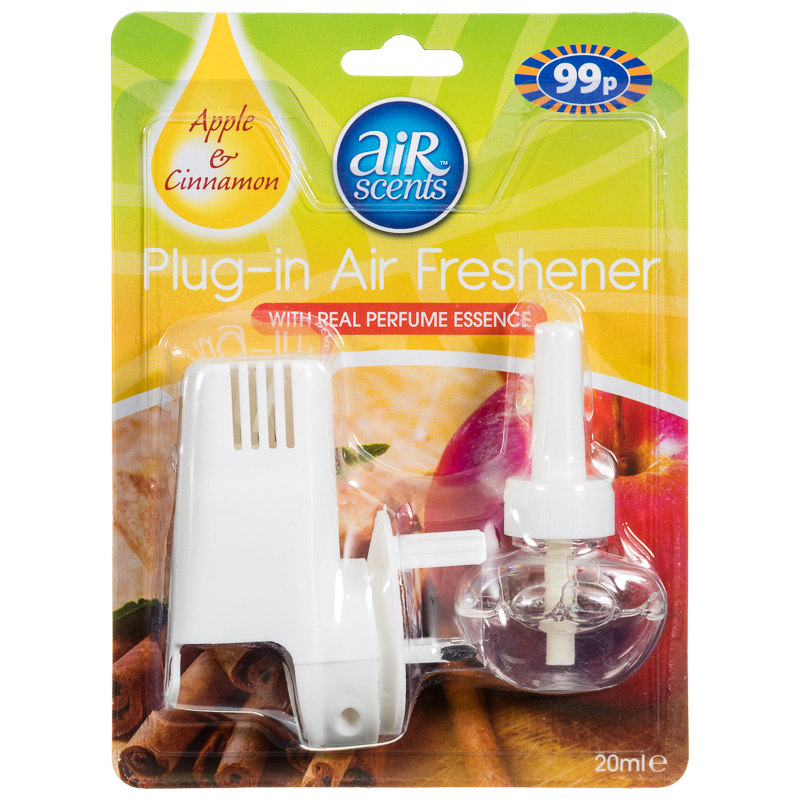 B m airscents plug in air freshener apple cinnamon for Air freshener plug in