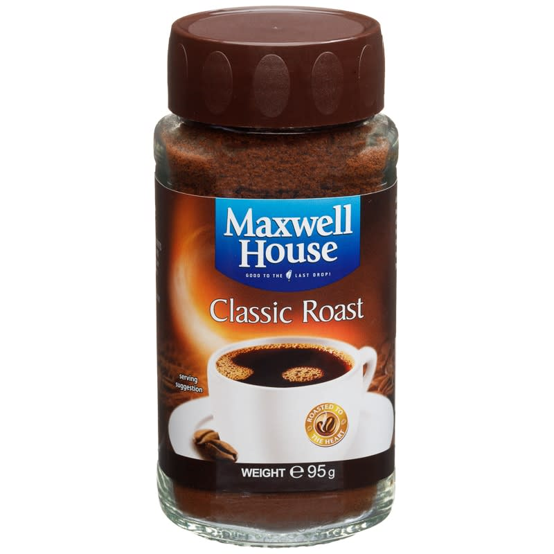 274003 Maxwell House Classic Roast Instant Coffee 95g