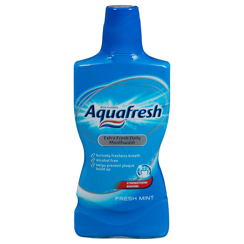 B Amp M Aquafresh Extra Fresh Mouthwash 500ml 274121 B Amp M