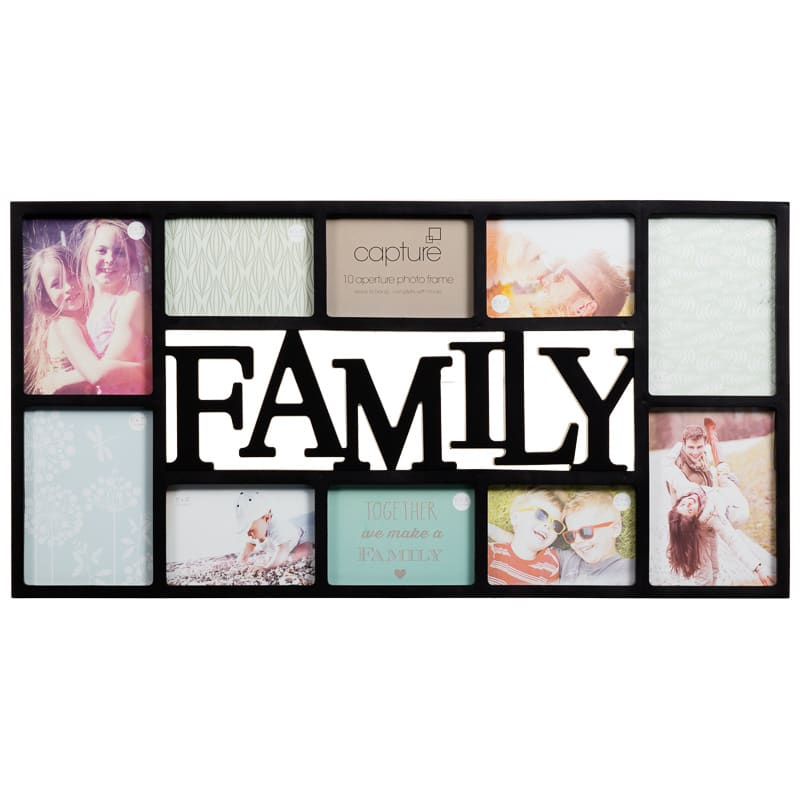 Family Multi Aperture Photo Frame Photo Frames