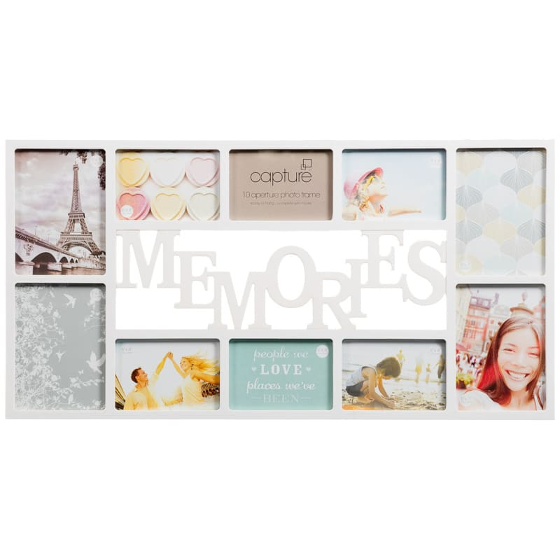 Memories Multi Aperture Photo Frame Photo Frames