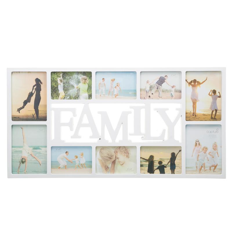 B Amp M Family Multi Aperture Photo Frame Photo Frames