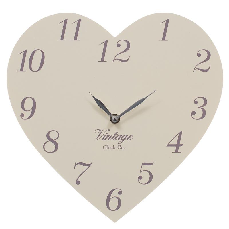 Vintage clock co heart clock 274858