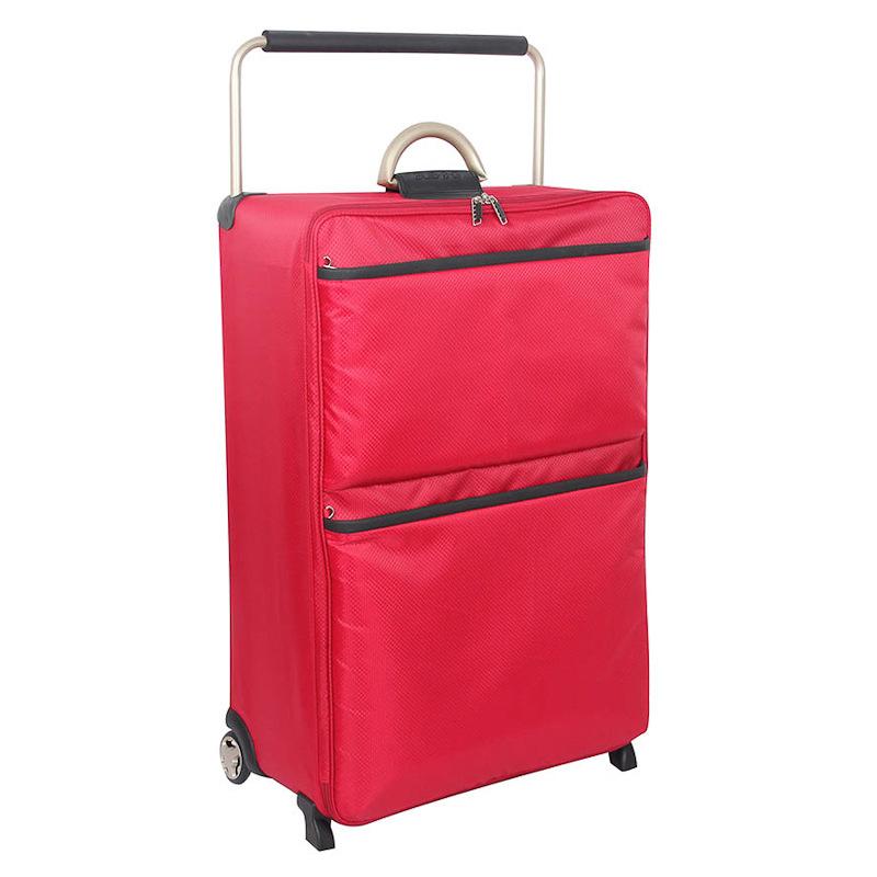 b m world 39 s lightest 30in suitcase red 275870. Black Bedroom Furniture Sets. Home Design Ideas