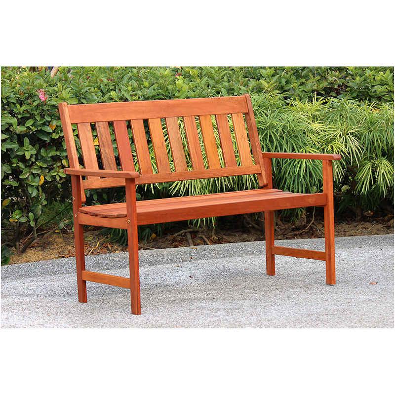 Jakarta Wooden Bench Garden Outdoor Furniture