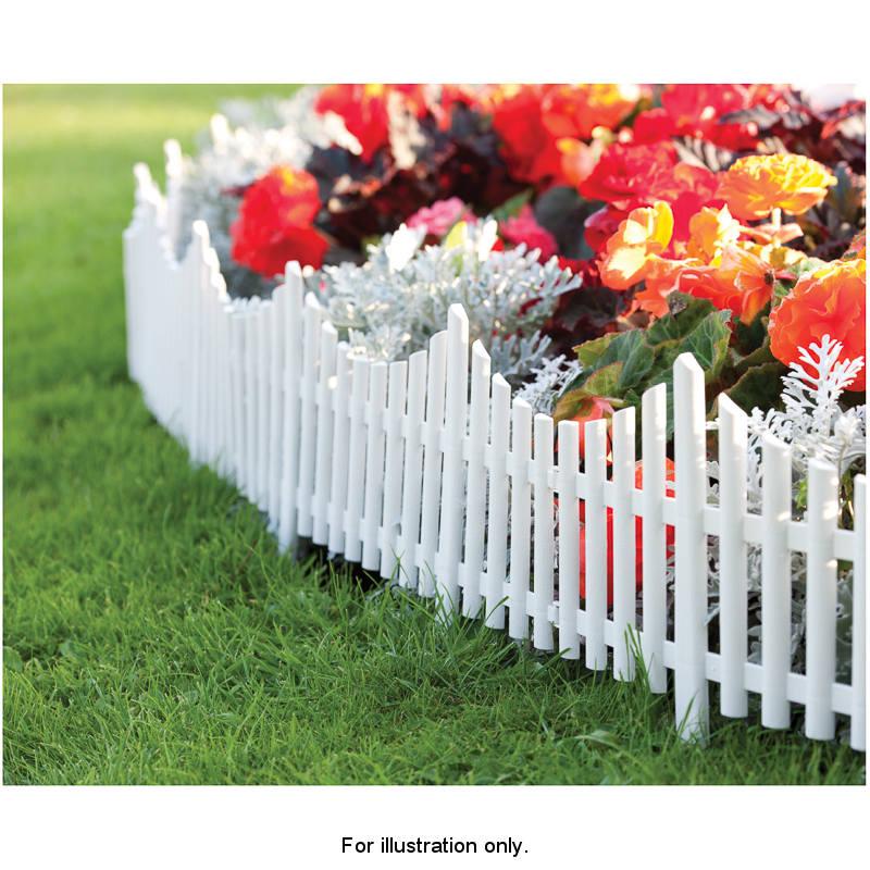 mini white picket fence 2
