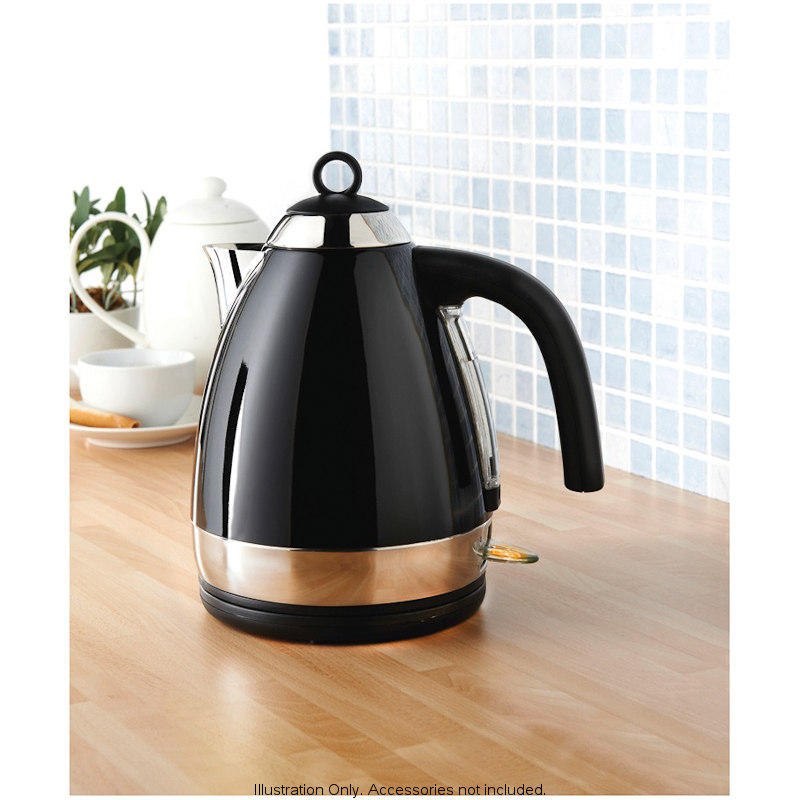 B Amp M Prolex Jug Kettle Black 2769253
