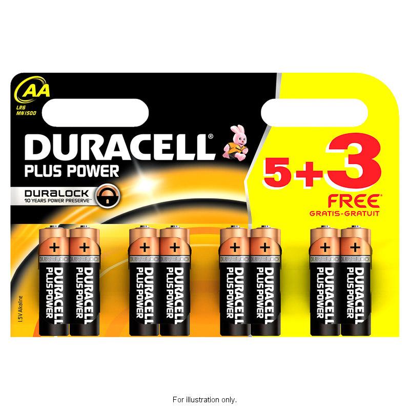 duracell batterier