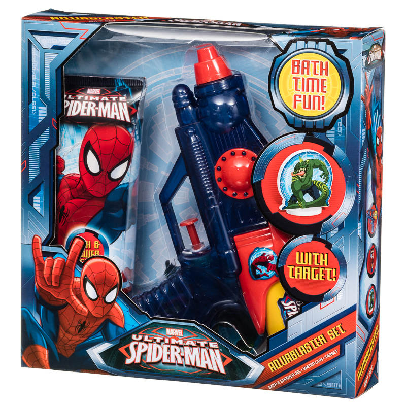 278424 Spider Man Aqua Blaster Set. B amp M Spider Man Aqua Blaster   278424   B amp M