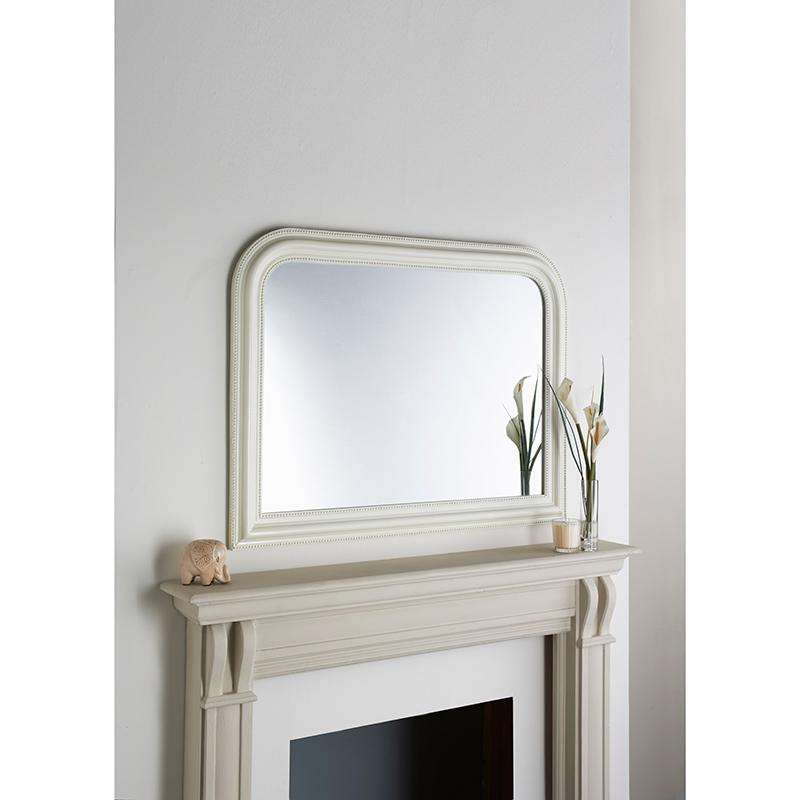 Over Mantel Beaded Mirror 278633 B Amp M