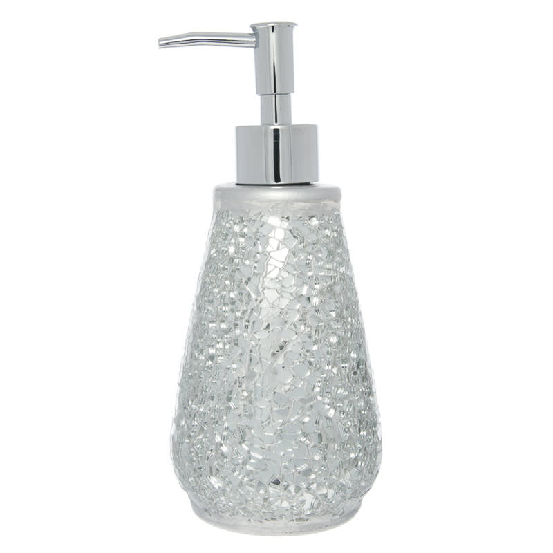 crackle bathroom accessories. Click On Image To Enlarge Mosaic Soap Dispenser  Silver Bathroom Accessories B M