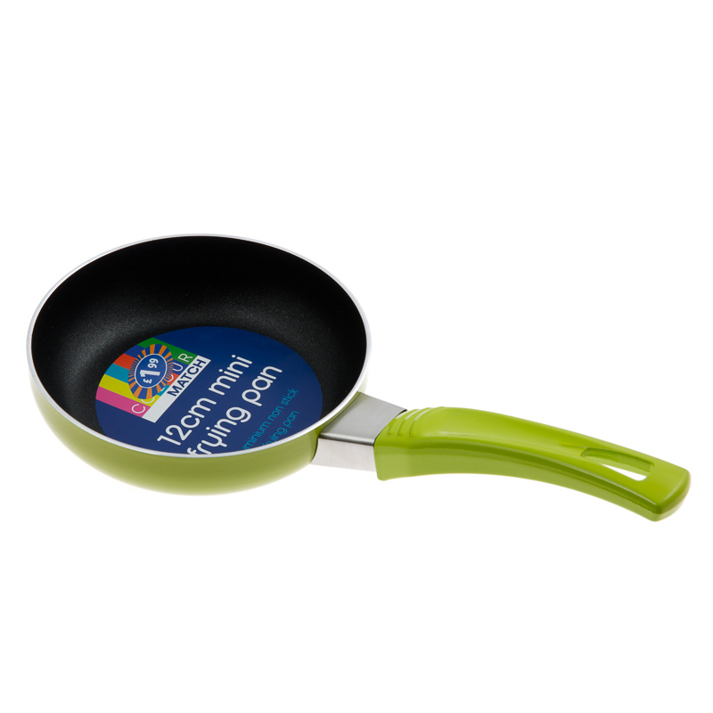 Home Back to Uni Kitchen 12cm Mini Frying Pan M Fish Packaging