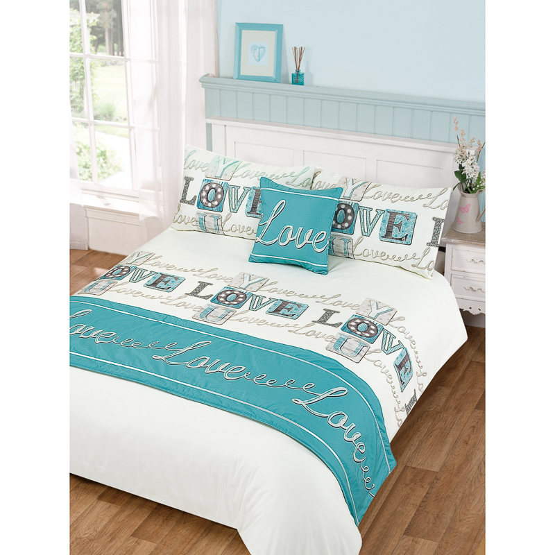 Love Bed In A Bag Duvet Set Double Size Bedding Bedroom