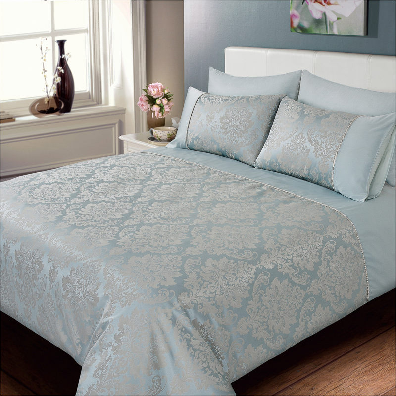 Elizabeth Jacquard Damask Duvet Set Bedding Duvet Sets