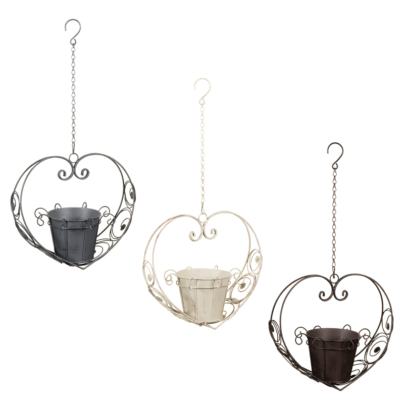 Heart Shaped Hanging Planter Garden Care Amp Planters