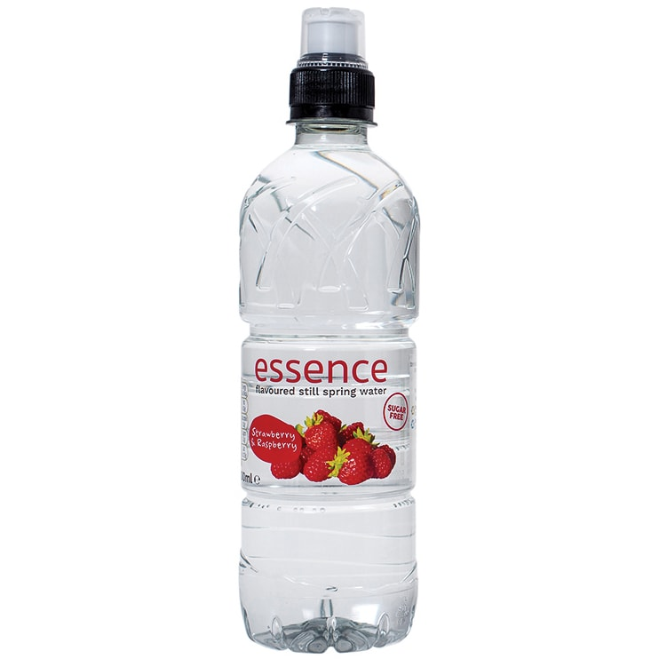 Essence Strawberry & Raspberry Water 500ml