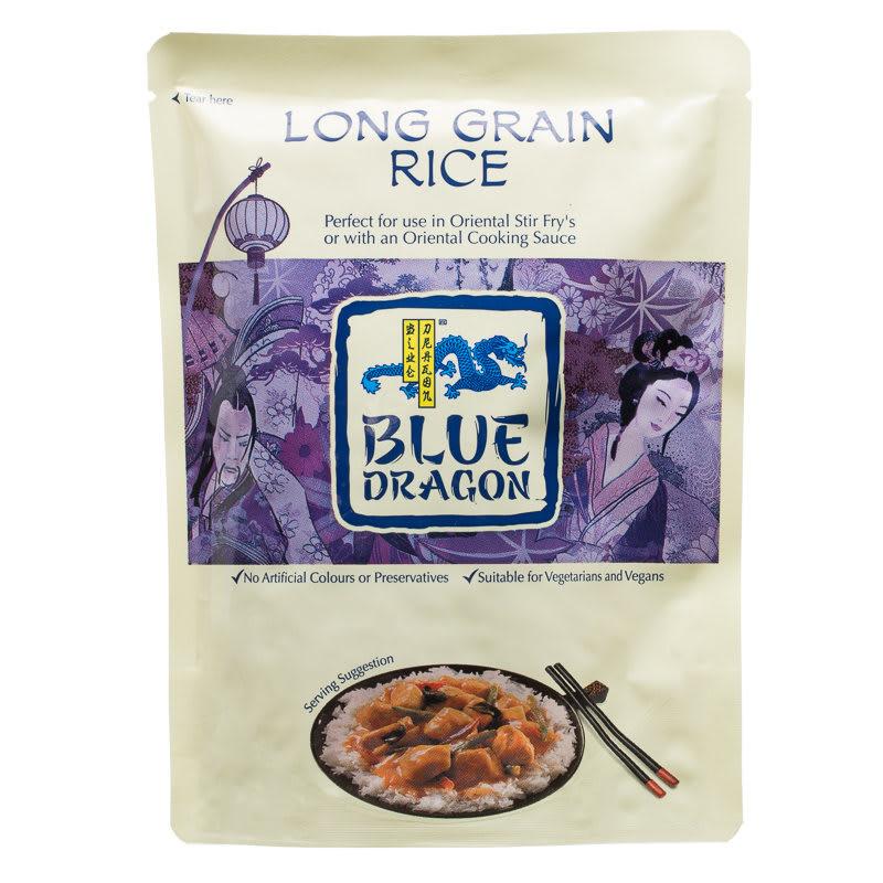 B Amp M Blue Dragon Long Grain Rice 250g 281057 B Amp M