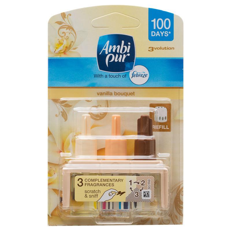 B&M Ambi Pur 3Volution Refill - Vanilla - 282002 | B&M