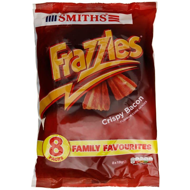 Frazzles 8pk Crisps Snacks Potato Crisps B Amp M Stores