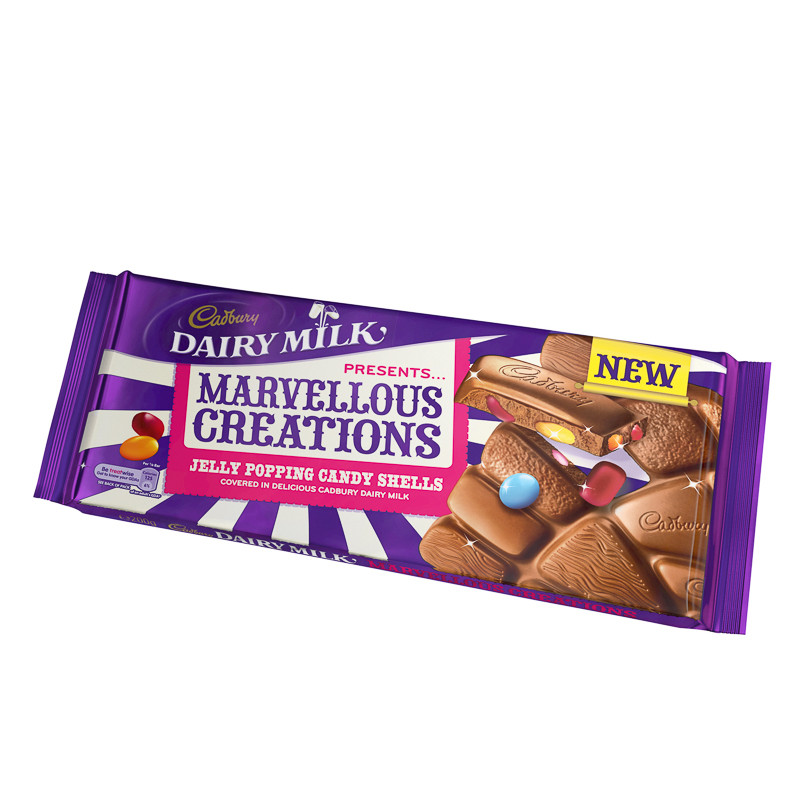 Marvelous Creations: Cadbury Marvellous Creations Jelly Popping Candy 200g