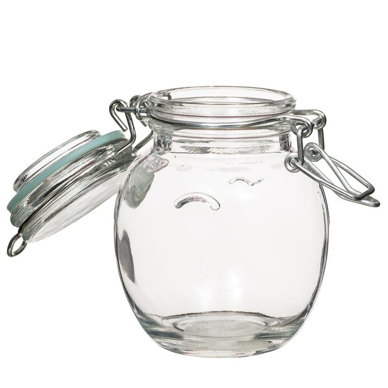 Mini Glass Storage Jar Kitchen Storage Cookie Amp Jam Jars