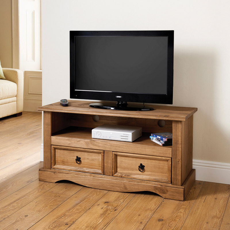 Rio 2 Drawer Media Unit | TV Unit, Television Cabinet