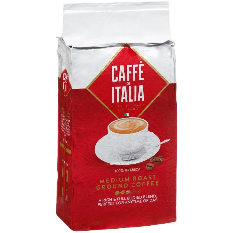 Caffe Di Italia Medium Ground Coffee 250g Hot Drinks B Amp M