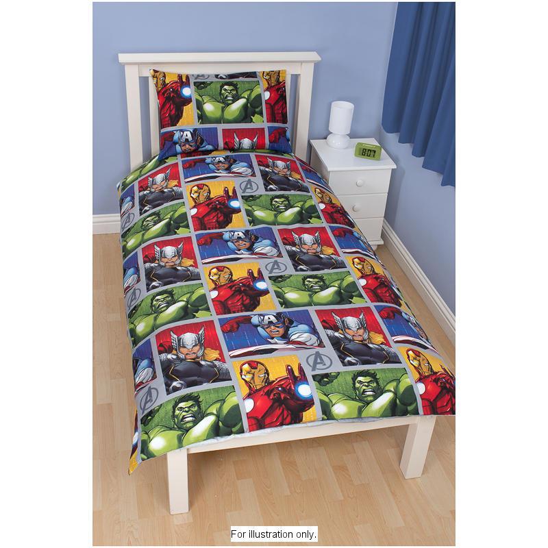 B m avengers single duvet set 283922 b m - Avengers bedroom ...