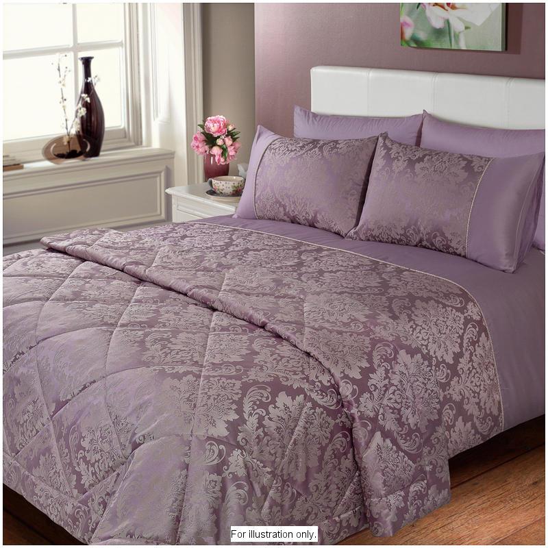Elizabeth Jacquard Damask Bedspread Heather 2852722 B Amp M