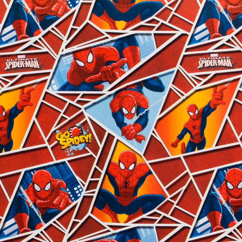 Character Wrapping Paper 3 Metres Spiderman Gift Wrap