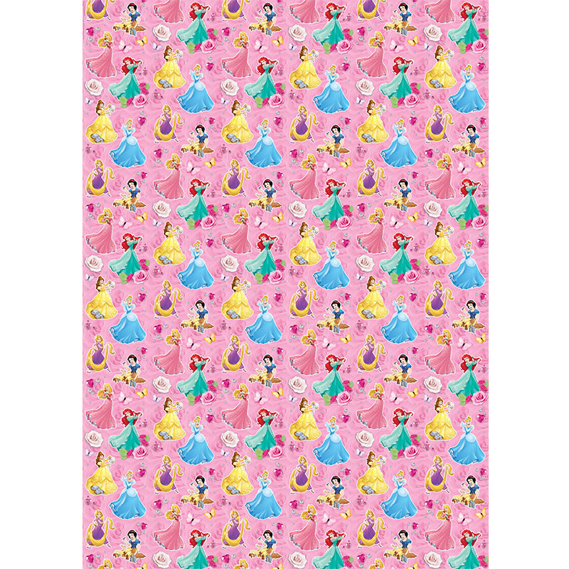Character Wrapping Paper Disney Princesses 3m Gift Wrap